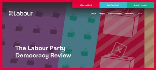 If you're a member of the party, submit your ideas and opinions to our Democracy Review now and help shape the future of our movement.