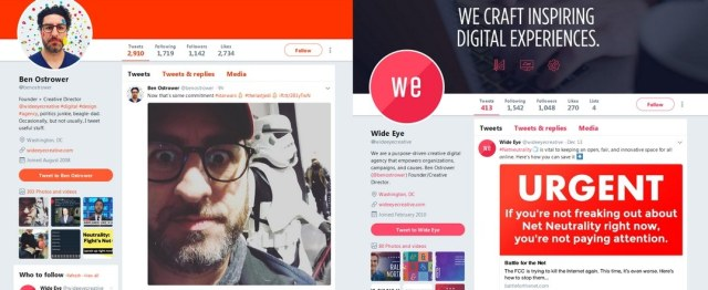 Wide Eye Creative & Ben Ostrower tweets